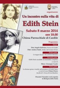 Un incontro sulla vita di Edith Stein