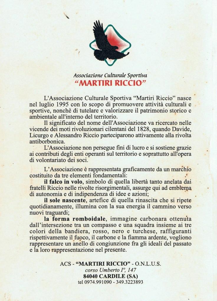 Associazione 'Martiri Riccio'