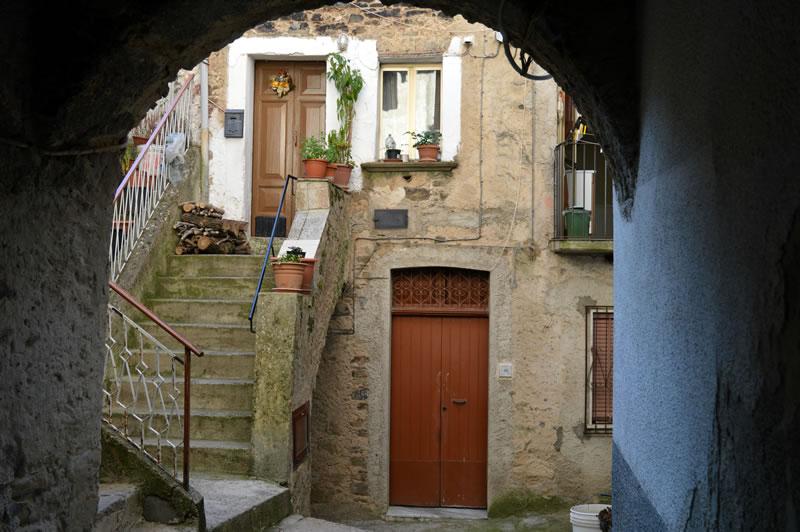 Vicolo San Rocco, centro storico