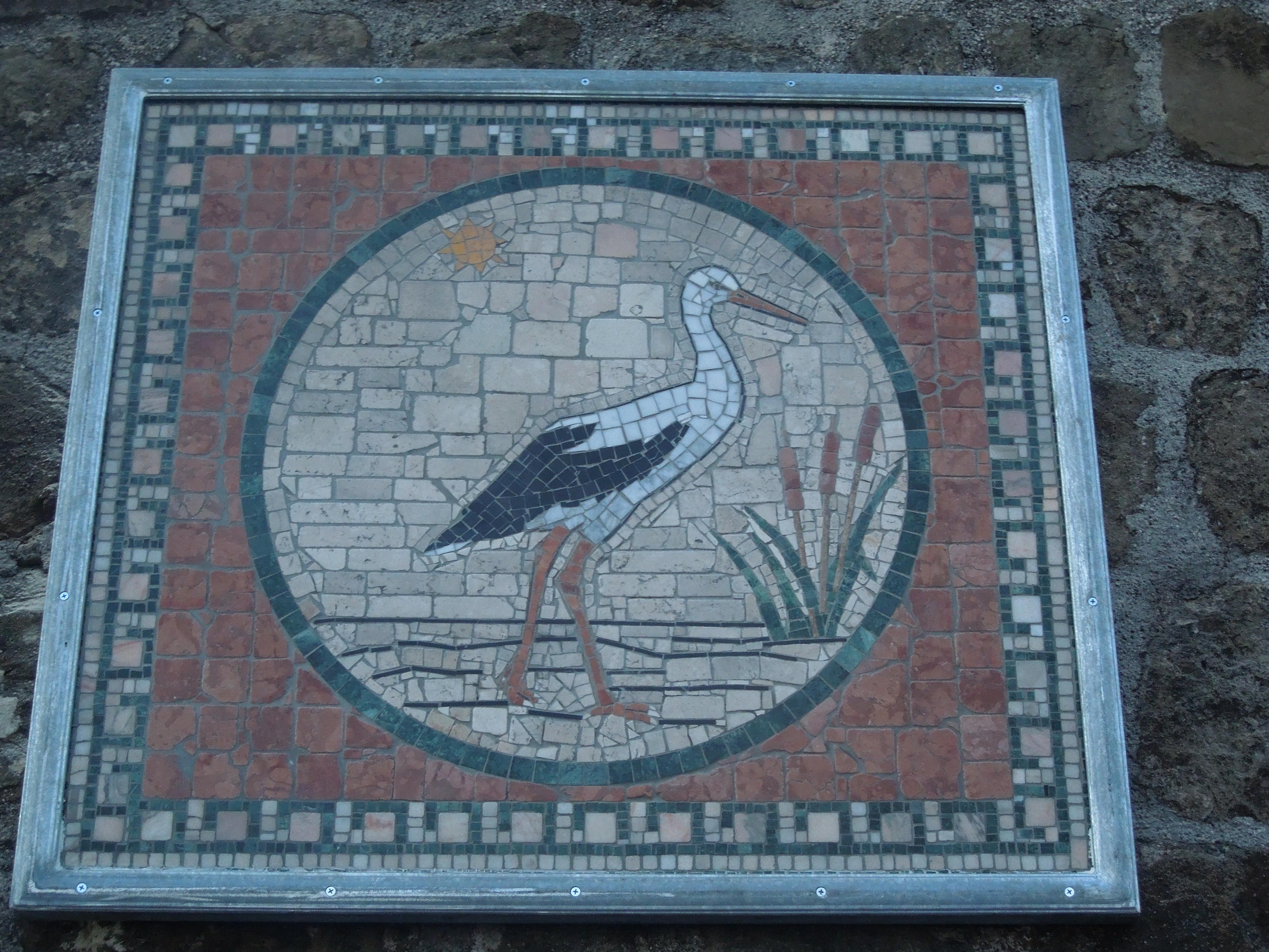 """""""Cicogna"""", mosaico in località """"Muraglione"""""""