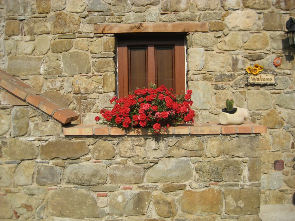 Il benvenuto floreale a casa di Antonietta Ruggiero
