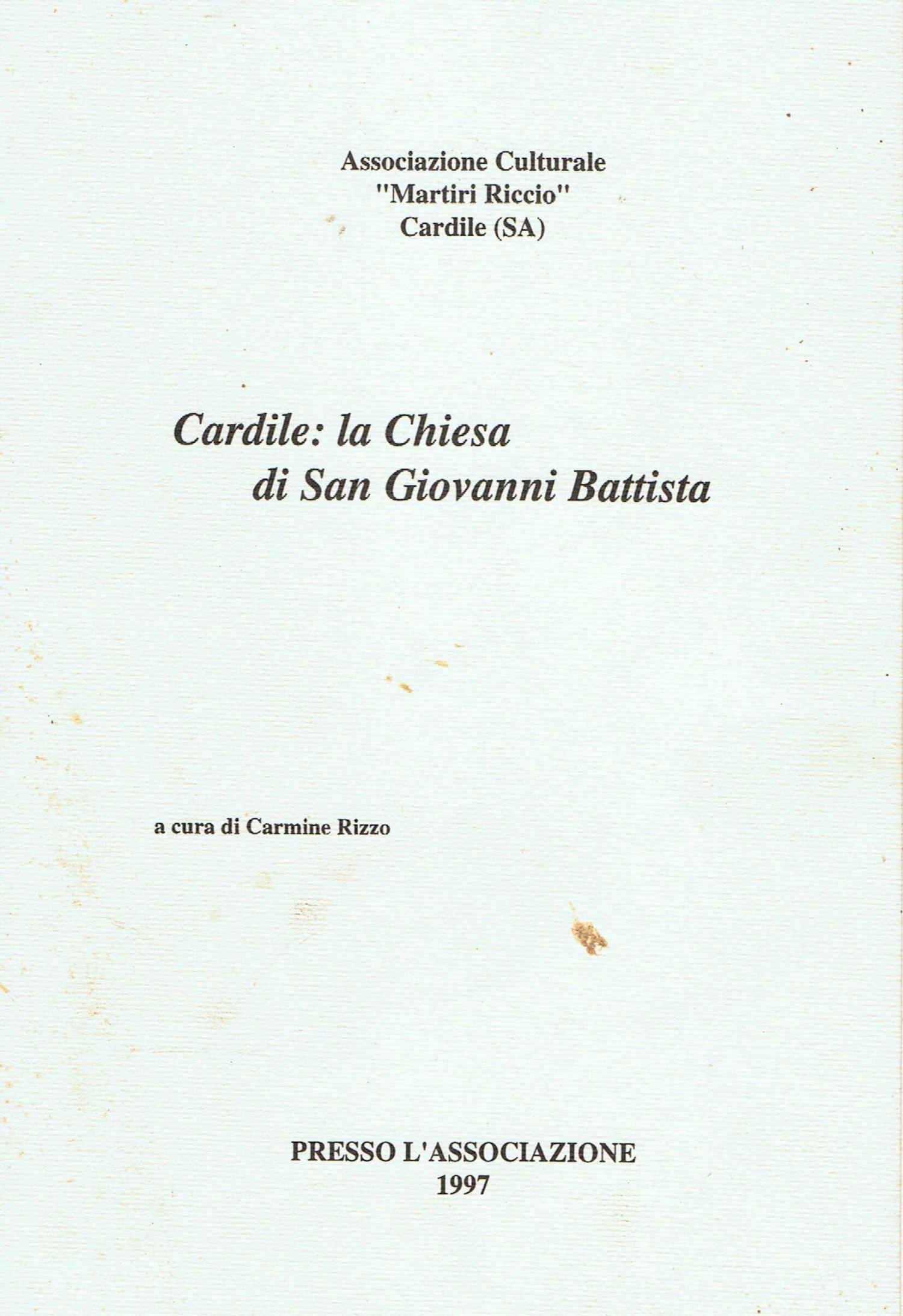 Cardile la Chiesa di San Giovanni Battista