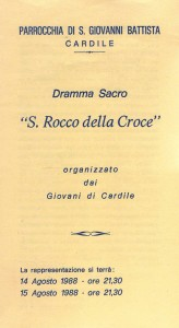 Dramma San Rocco