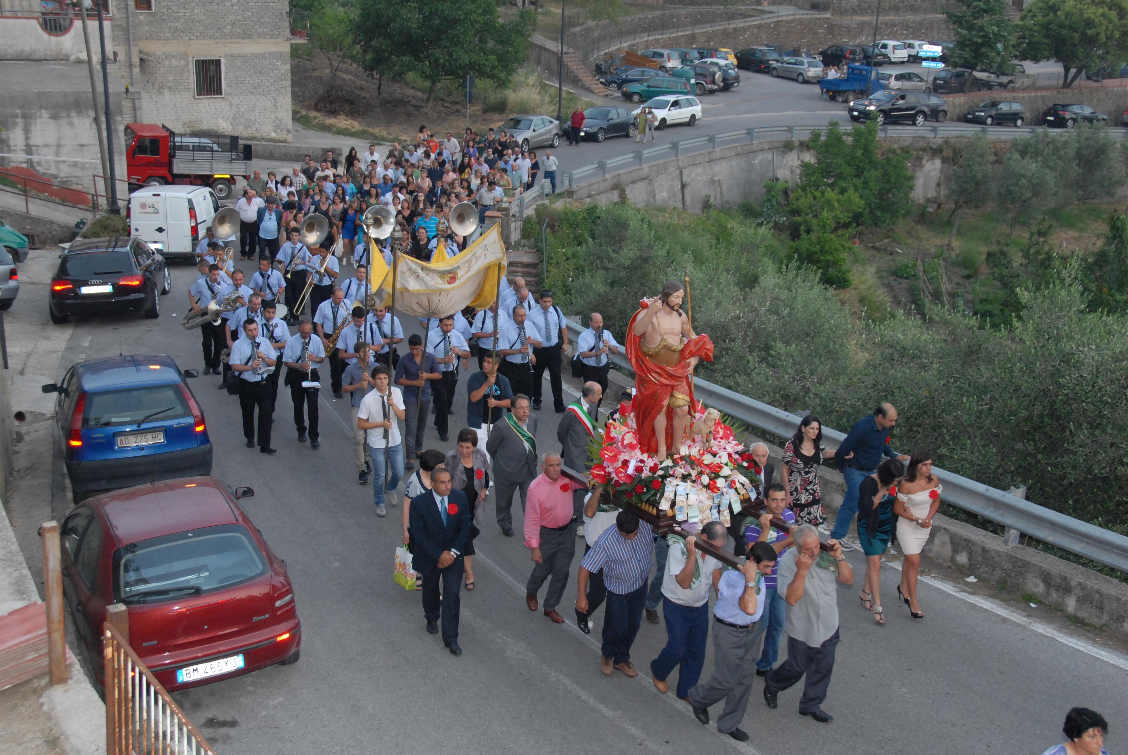 Processione a San Giovanni Battista